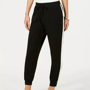 Style & Co Cuff Leg jogger with Side Stripe